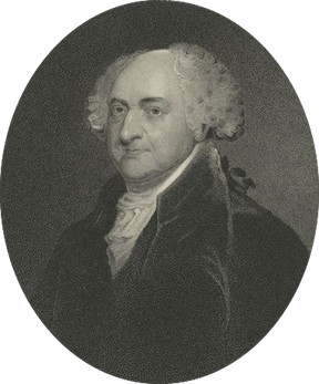 Portrait of John Adams, Courtesy of NYPL Digital Library