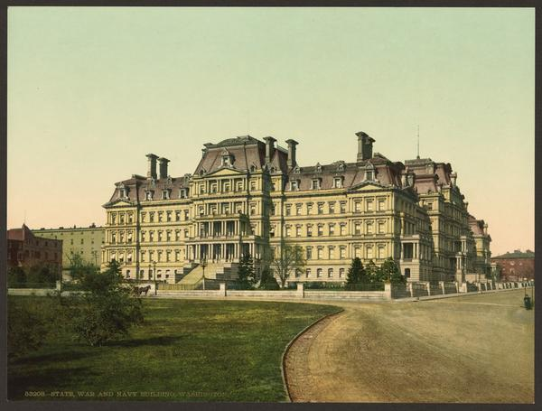 State, War, and Navy Building, 1898