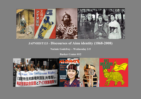 Japanese History 133 course poster