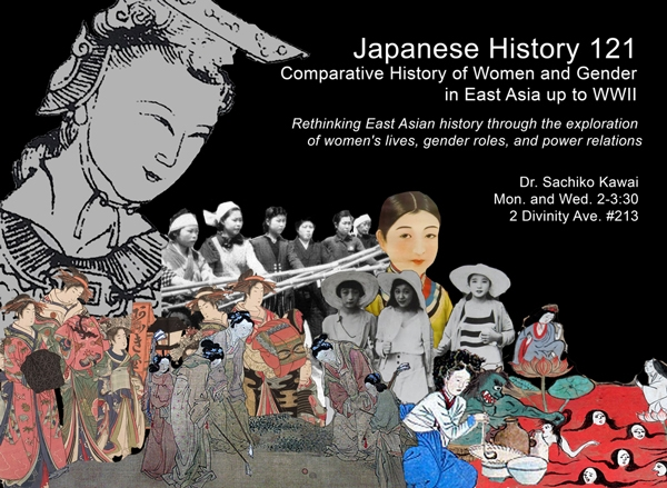 Japanese History 121 - Comparative History of Women and Gender in East Asia Through WWII