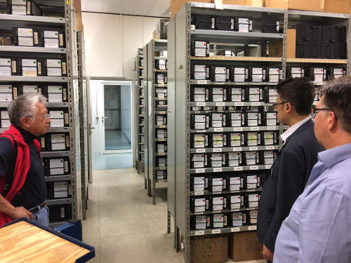 VLBI data storage at the MPIfR, Bonn, Germany
