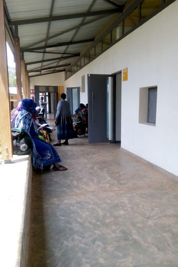 Image of outpatient oncology ward in Butaro Hospital