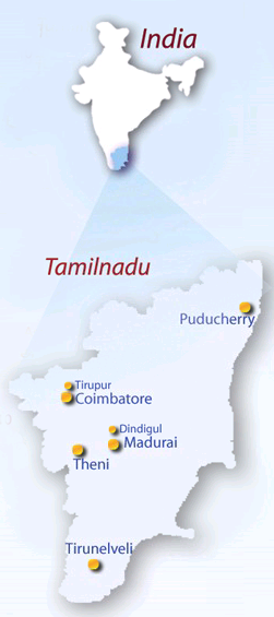 Aravind Eye Hospital Locations