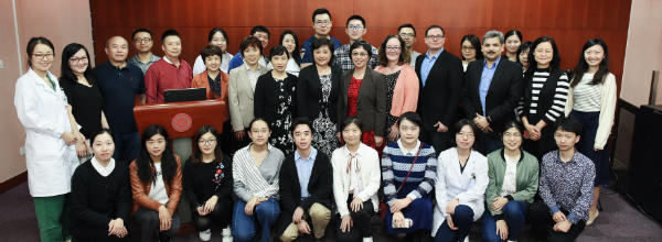Peking University group shot