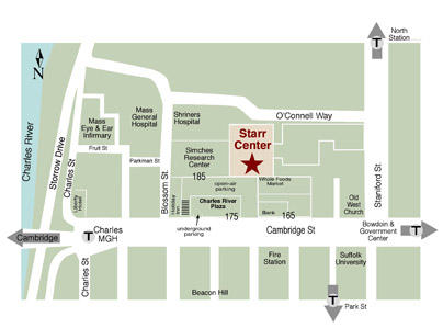 The Starr Center map