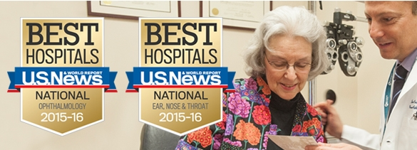 Mass. Eye and Ear, Mass General Hospital Receive #1 Ranking (via Mass. Eye and Ear)