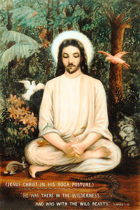 Jesus in Yoga