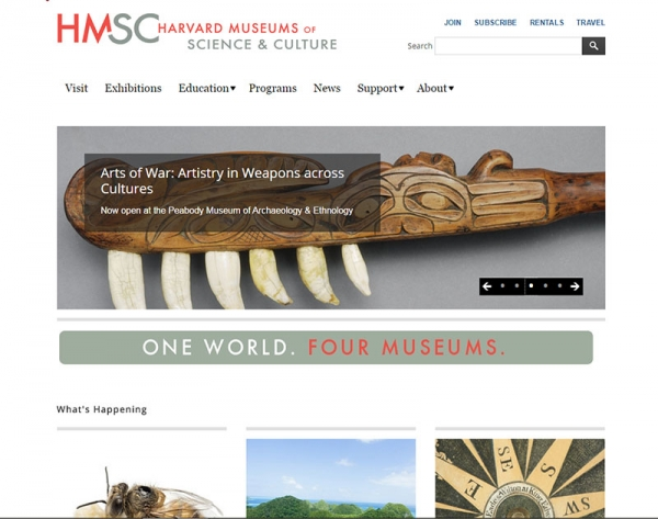 Museums of Science and Culture website link