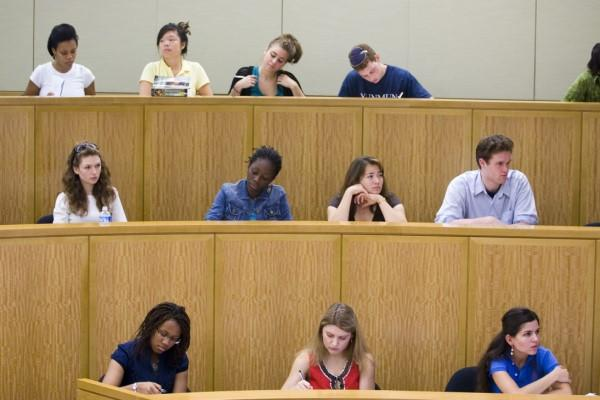 Photo of students in CGIS