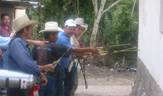 Indoor residual spraying