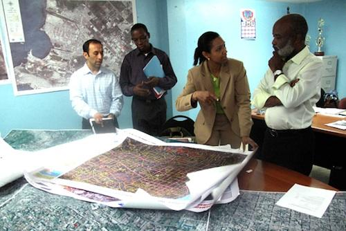 CGA sends maps to Haiti for earthquake response