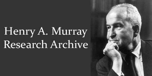 "Henry Murray with text ""Henry A Murray Research Archive"""