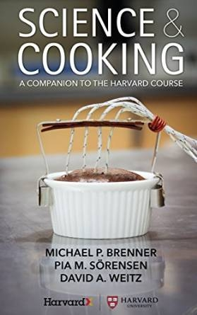 Cover of the Science & Cooking e-book featuring a molten chocolate cake.