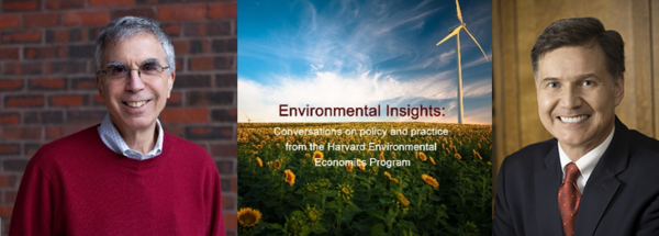 Rob Stavins and Dan Esty for Environmental Insights