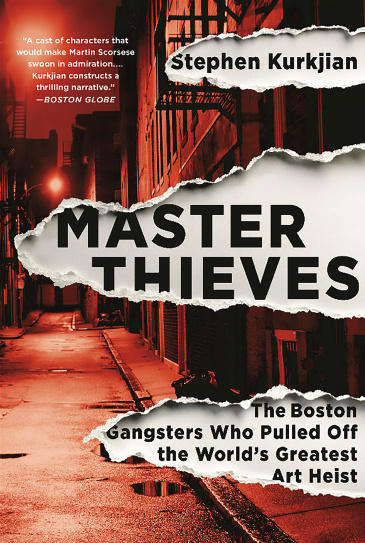 Master Thieves book jacket