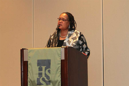 Evelynn Hammonds at 2016 HSS Meeting