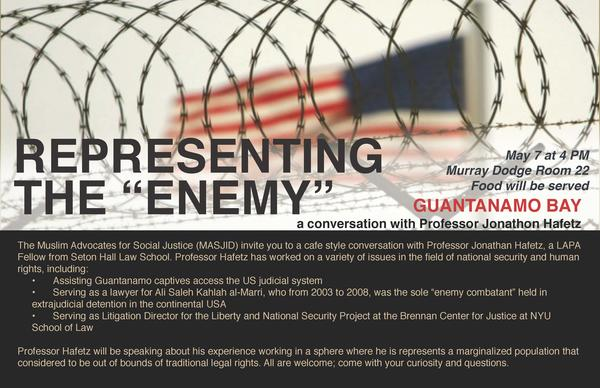 Flyer for event at Princeton University