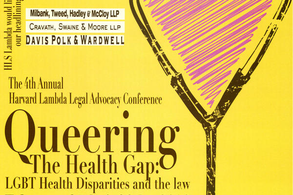 Lambda_Queering the Health Gap_conference poster