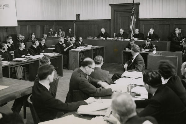 Opening Session at NMT 3_Office Chief of Counsel for War Crimes_5 Mar 1947_olvwork376159.tif