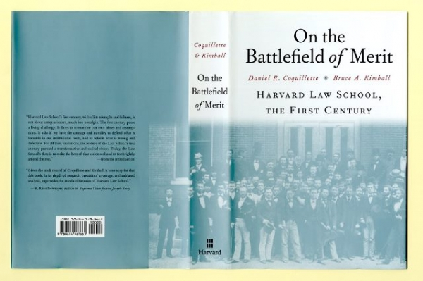 Bookjacket of On the Battlefield of Merit