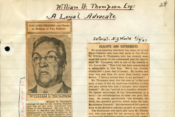 William G Thompson_SV Newspaper Clippings_Box 1-3