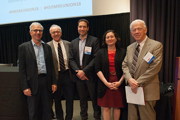 HSCI faculty at HMS symposium 2018