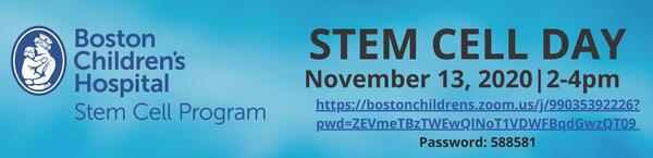 stem cell day poster logo image