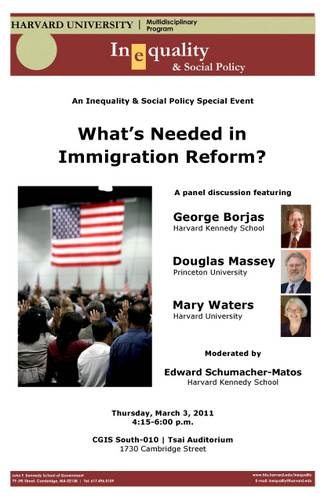 What's Needed in Immigration Reform poster