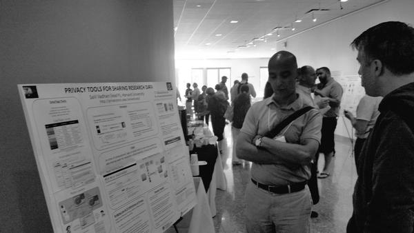 Poster session at the Dataverse Community Meeting