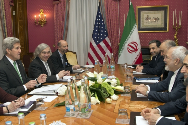 Sec. Kerry and For. Min. Zarif meet in Lausanne