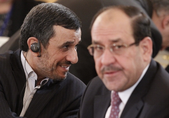 Nouri al-Maliki and Mahmoud Ahmadinejad