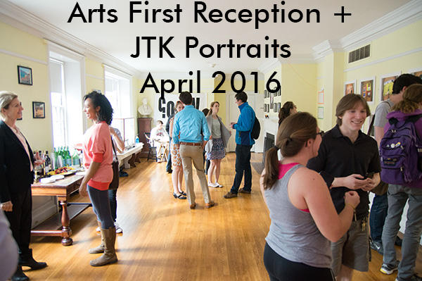 Arts First Reception