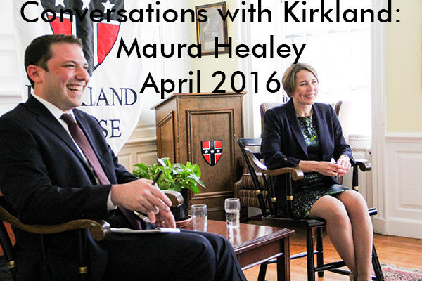 Conversations with Kirkland: Maura Healey