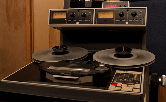 AMPEX Open Reel Tape Machine