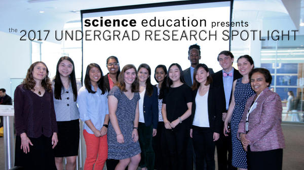 Undergraduate Research Spotlight 2017 Participants