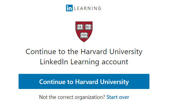 LinkedIn Learning Single-Sign On Redirect