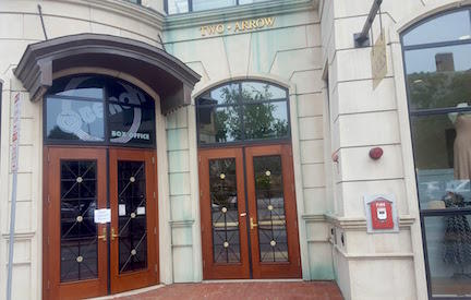 Image of building/doorway entry to 2 Arrow St., Cambridge MA