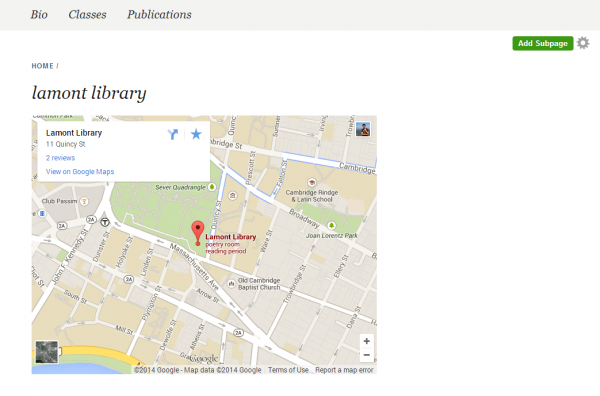 Google Maps | OpenScholar Doentation on google maps street view, google earth update 2014, google sky, google maps updated 2012, google search,