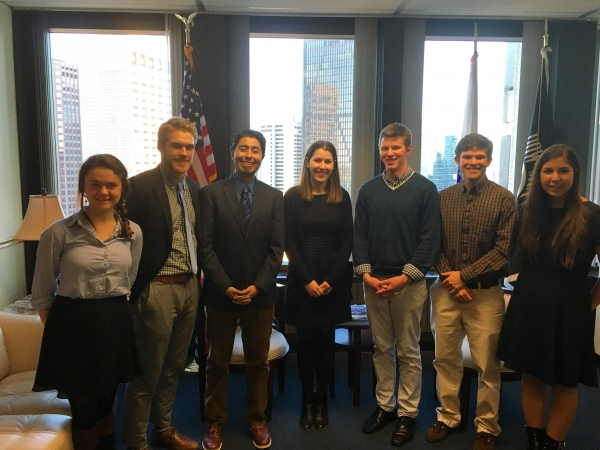 PIH Engage at Senator Warren's office
