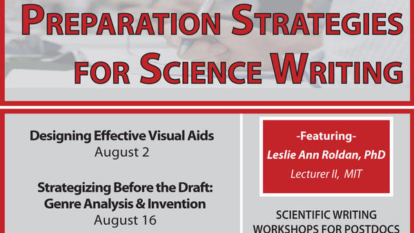 Preparation Strategies for Science Writing