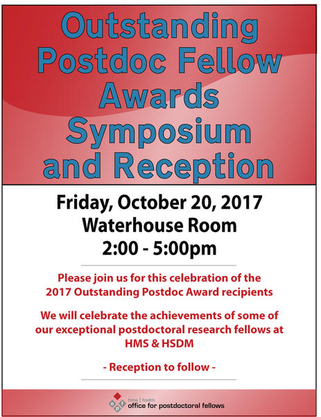 Outstanding Postdoc Awards