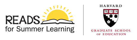 READS for Summer Learning and Harvard Graduate School of Education logos