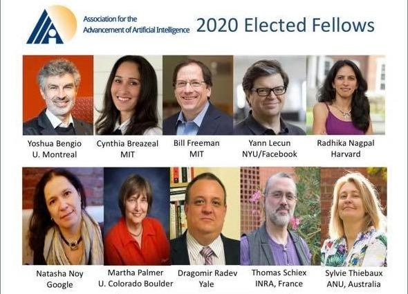 AAAI Fellows 2020