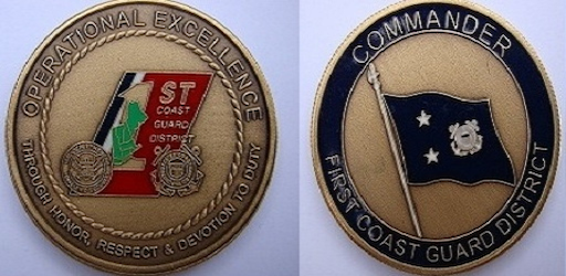 2011 Commander, First Coast Guard District's Operational Excellence Award