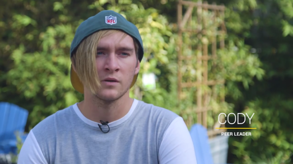 Cody is one of a handful of homeless youth in Los Angeles identified as peer leaders by the HEAL algorithm.