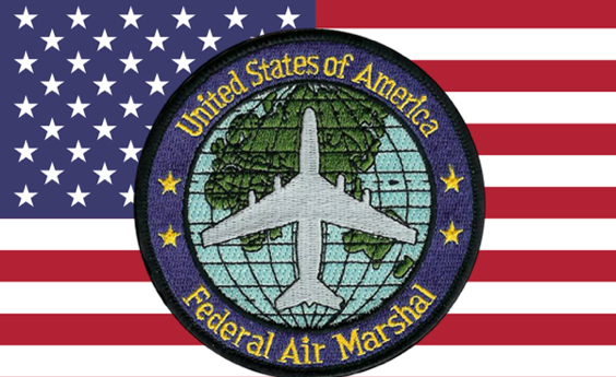 Emblem the Federal Air Marshal's Service