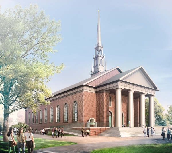 And That The Historic Sanctuary In Center Of Harvard Yard Should Be Reopened Early Next Year But People Walking Into Classic New England Church