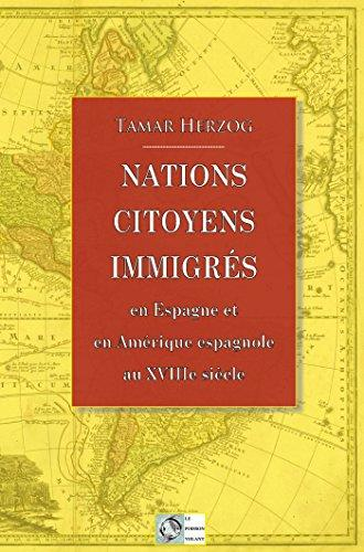 Nations Citoyens Immigres Book cover