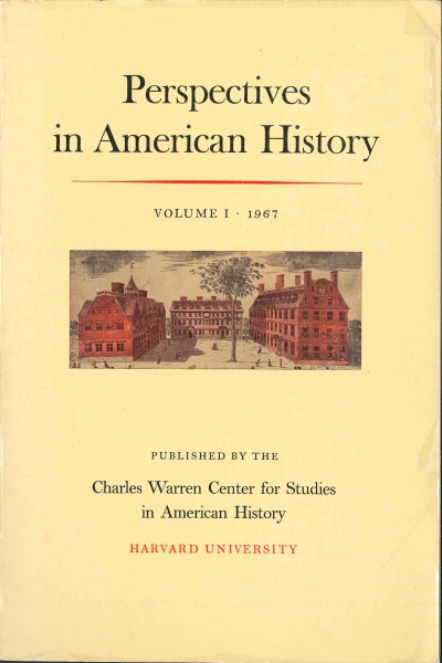 Cover of Perspectives in American History