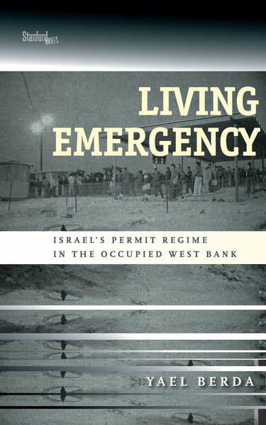 Image of book cover of Living Emergency